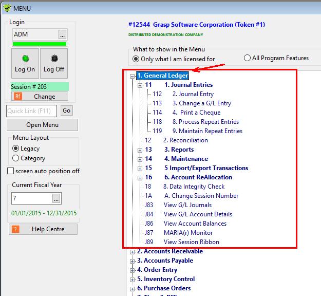 simple general ledger software